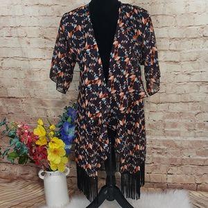 LuLaRoe Monroe Kimono Cover Up